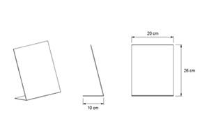 ディスプレイ:2色 グレー/ブラック L: 26*35*11(32個) S: 20*26*10(15個)